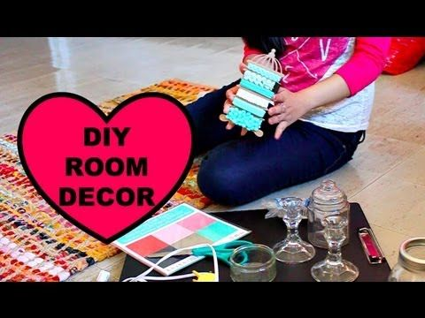 Quick U0026 Easy DIY Room Decorating Ideas!