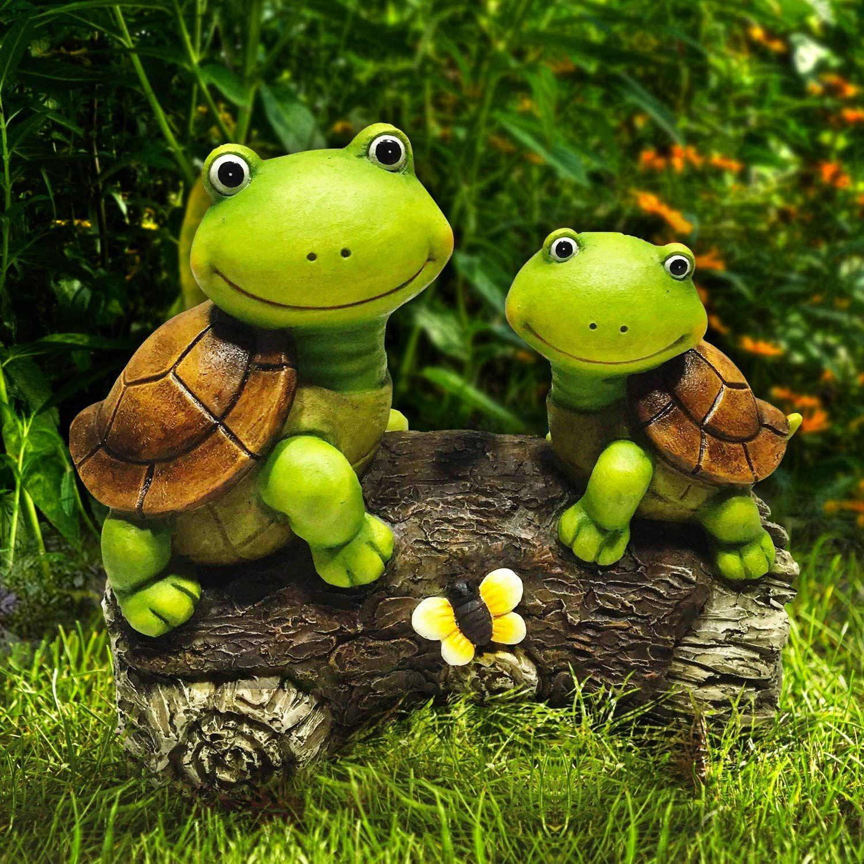Lovely Resin Frog Large Animal Ornament Statue Garden Lawn ...