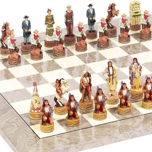 American West Chessmen  Greenwich Street Chess Board From Spain *** You can get additional details at the image link.