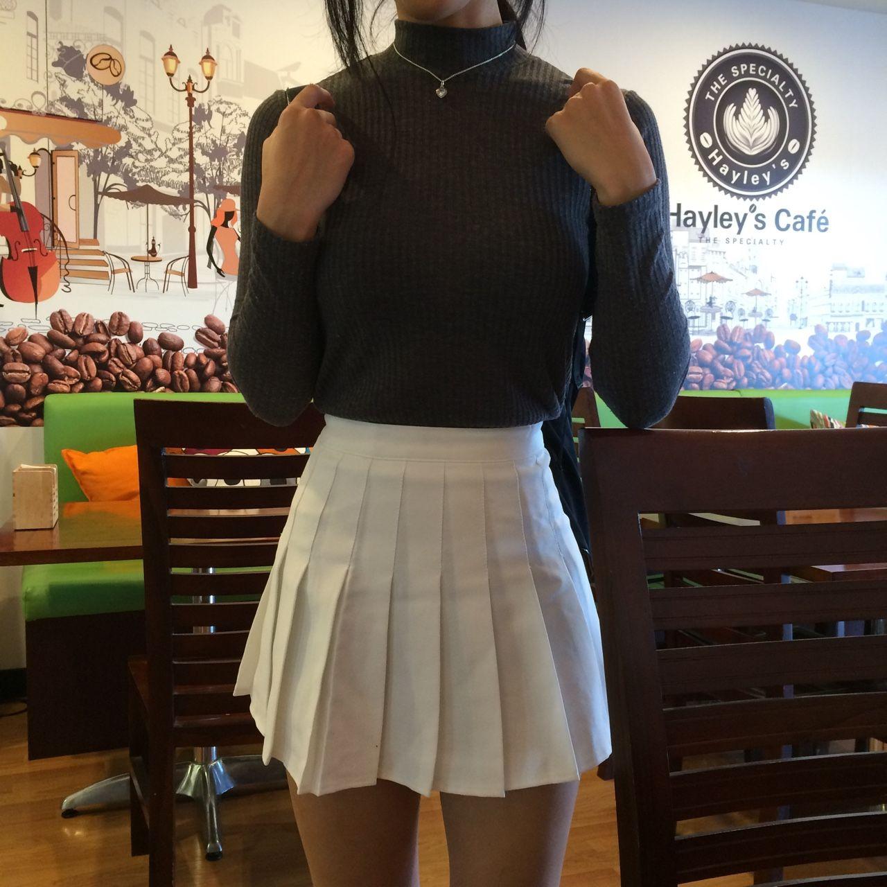 Aa Tennis Skirt Tennis Skirt Outfit Skirt Tumblr White Tennis Skirt