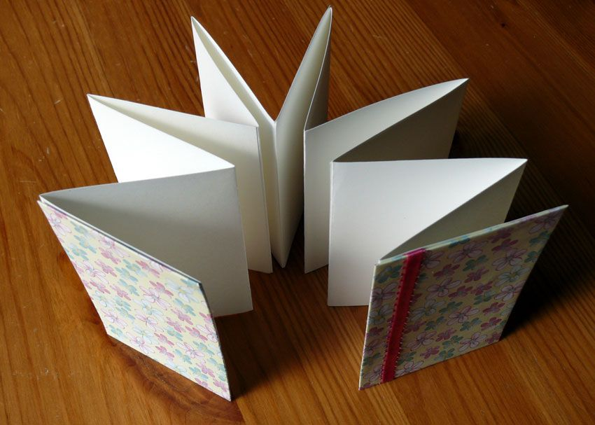 How To Make An Accordion Book Brightly Accordion Book Diy Photo Book Homemade Books