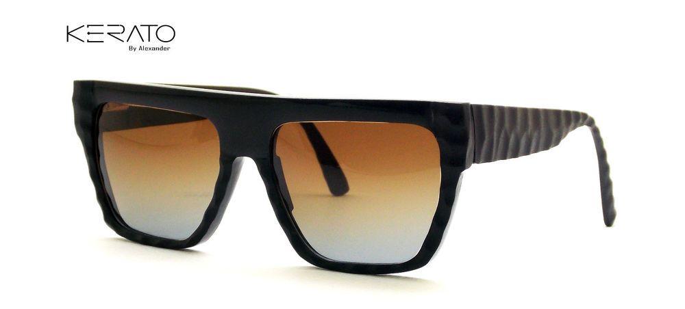 Buffalo horn Eyeglasses****Sunglasses #AlexanderExoticMaterialEyewear #Rectangular