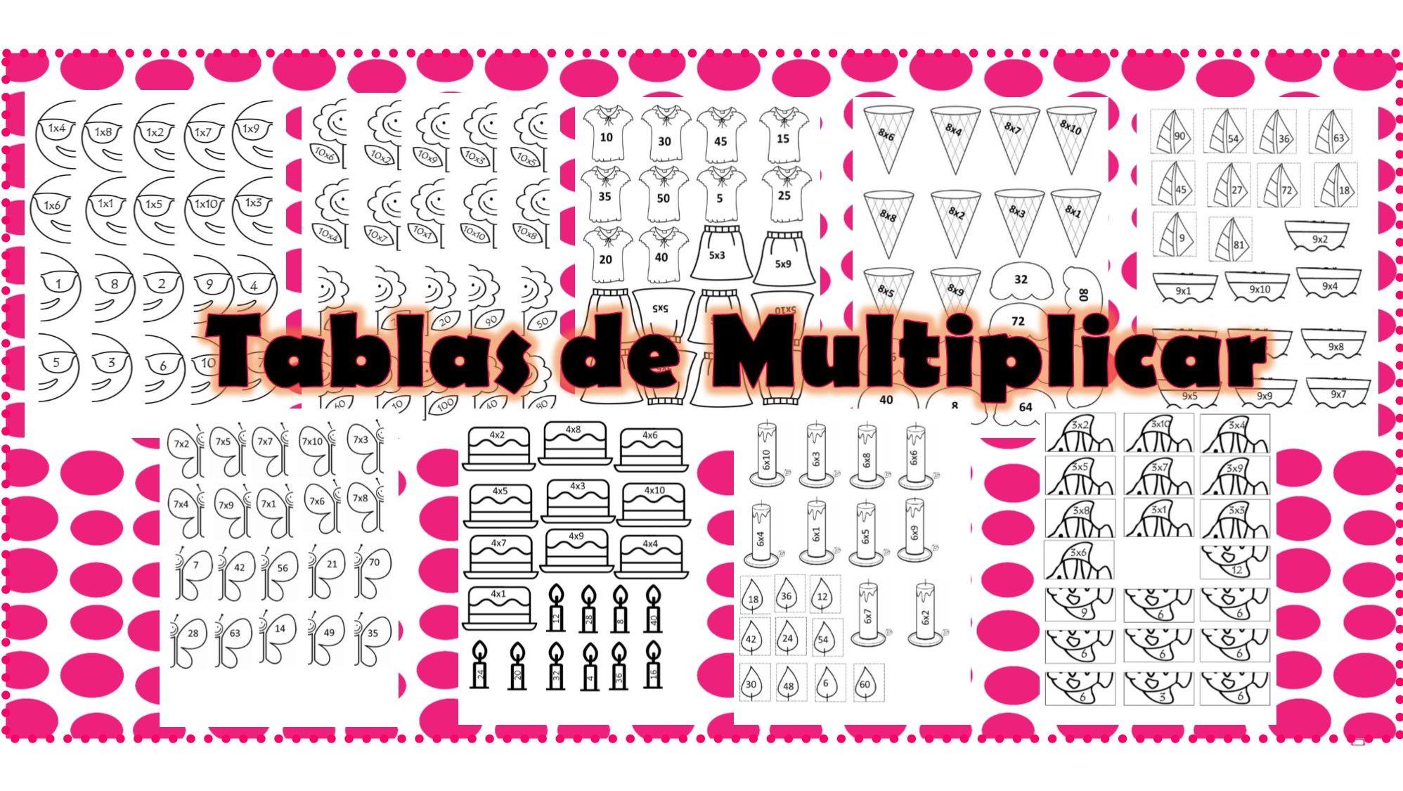 Pin De Milagros Rodriguez En Multiplicar