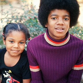 Janet and Michael Jackson