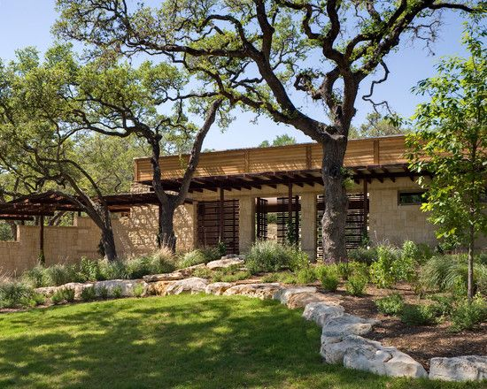 Hill Country River Ranch Country Landscaping Country Backyards Country Garden Design