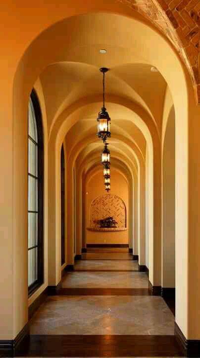 Long Entry Hallway Ideas Entrance