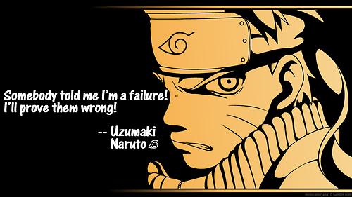 Naruto Quote