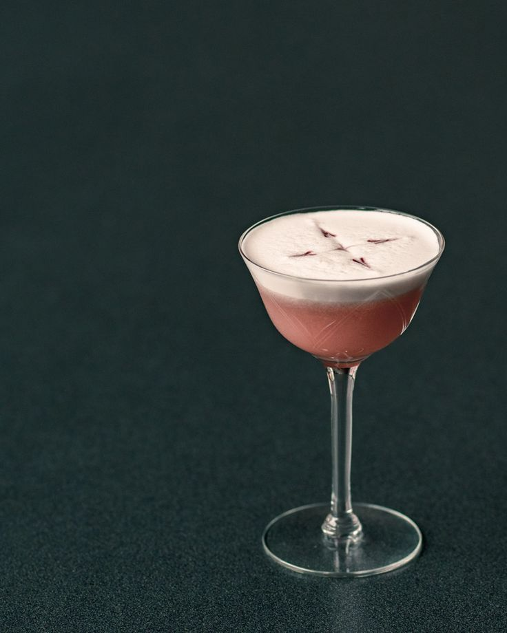 Pink Lady Cocktail Recipe - A Tart Gin Drink with Applejack and Grenadine