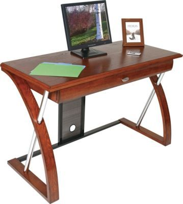 Staples Has The Osp Design Aurora Computer Desk You Need For Home Office Or Business Free Delivery On All Orders Over 19 9 Desk Computer Desk Oak Finish