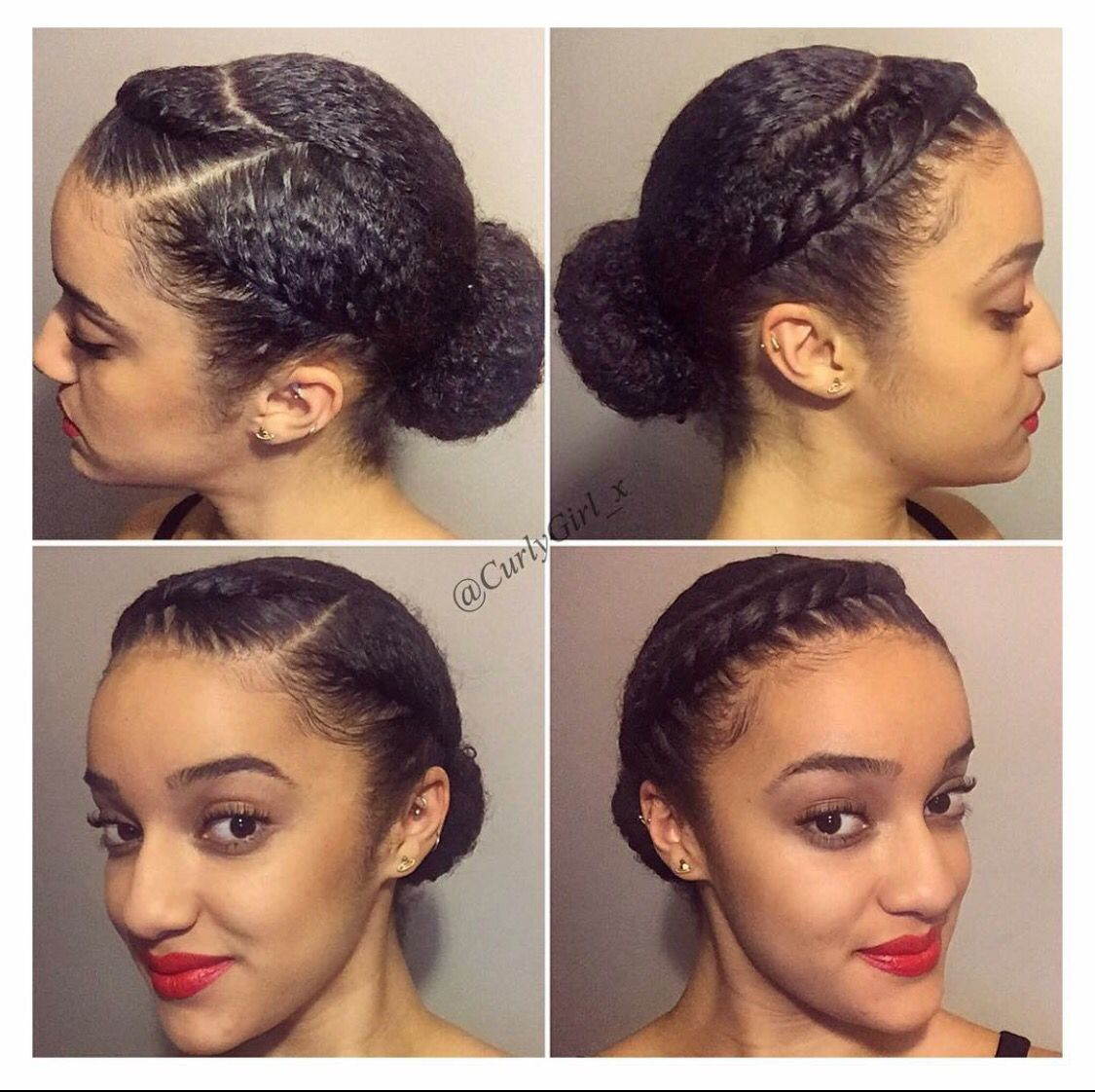 Yes One Day Natural Hair Styles Easy Natural Hair Styles Transitioning Hairstyles