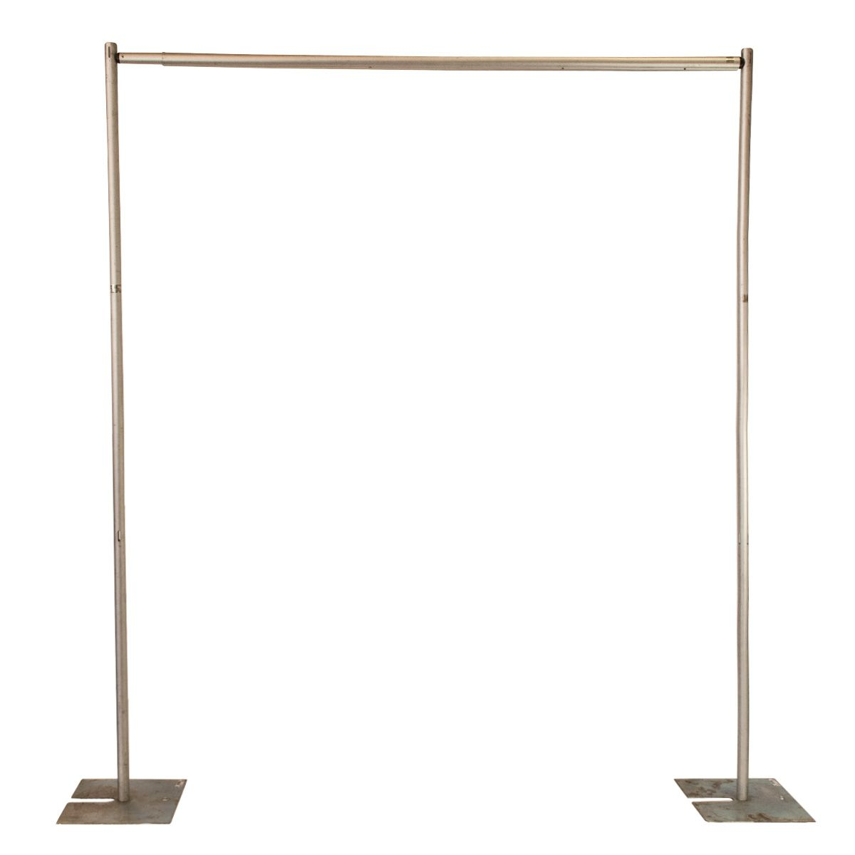 pipe and drape 8 ft tall frame