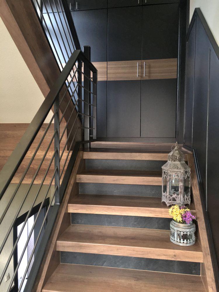 Moderne Treppenhausgestaltung | Flur | Pinterest