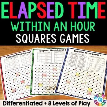 Elapsed Time Within An Hour: Elapsed Time Games (Multi-Level