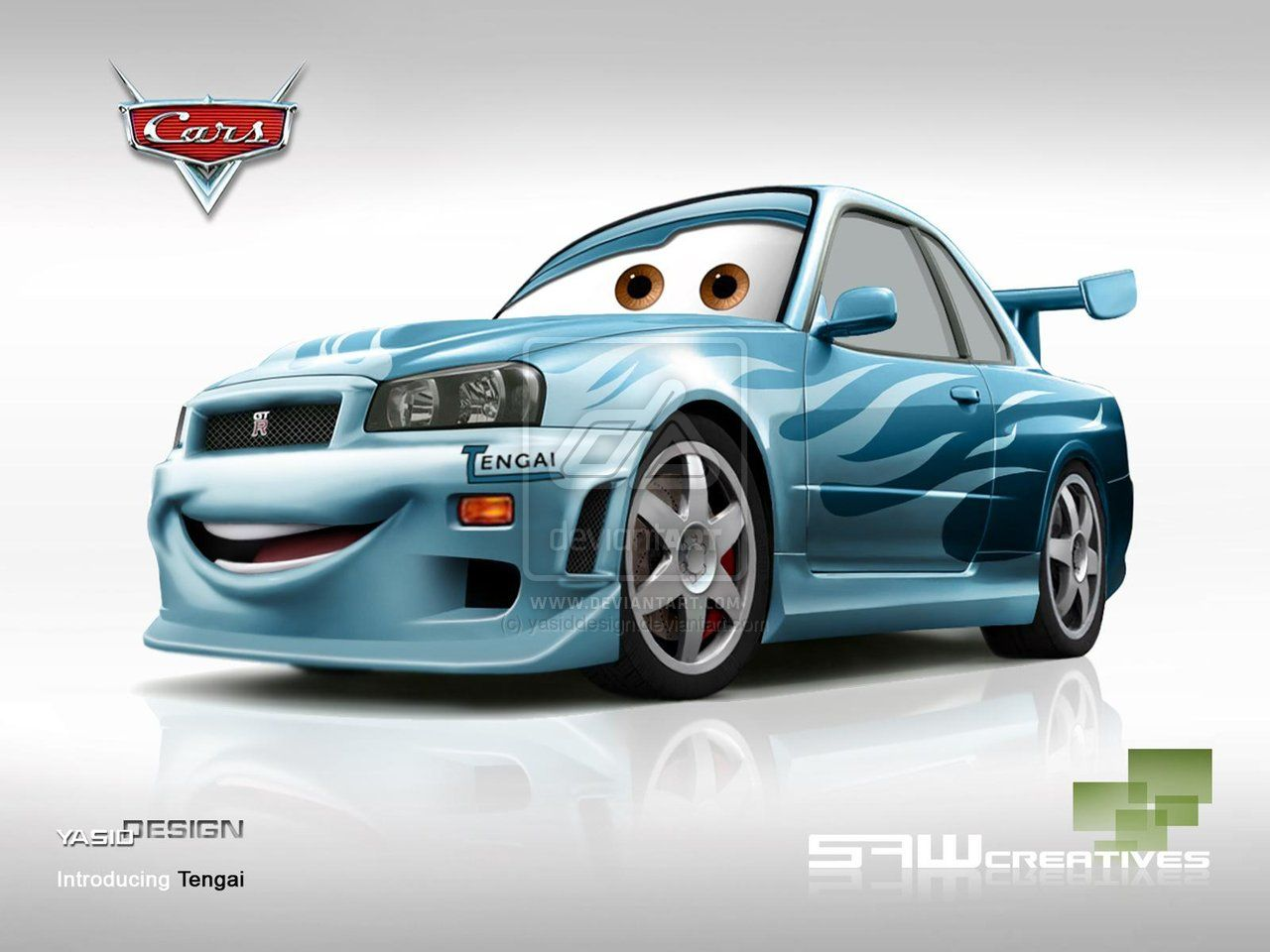Cars Movie Characters: Disney Pixar Cars TENGAI By ~yasiddesign On DeviantART