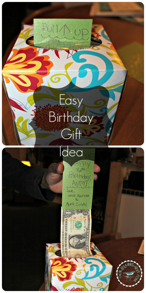 diy money gift idea gift ideas for men or boys teenage birthday present ideas wrap it up for parties via ourshabbynestcom