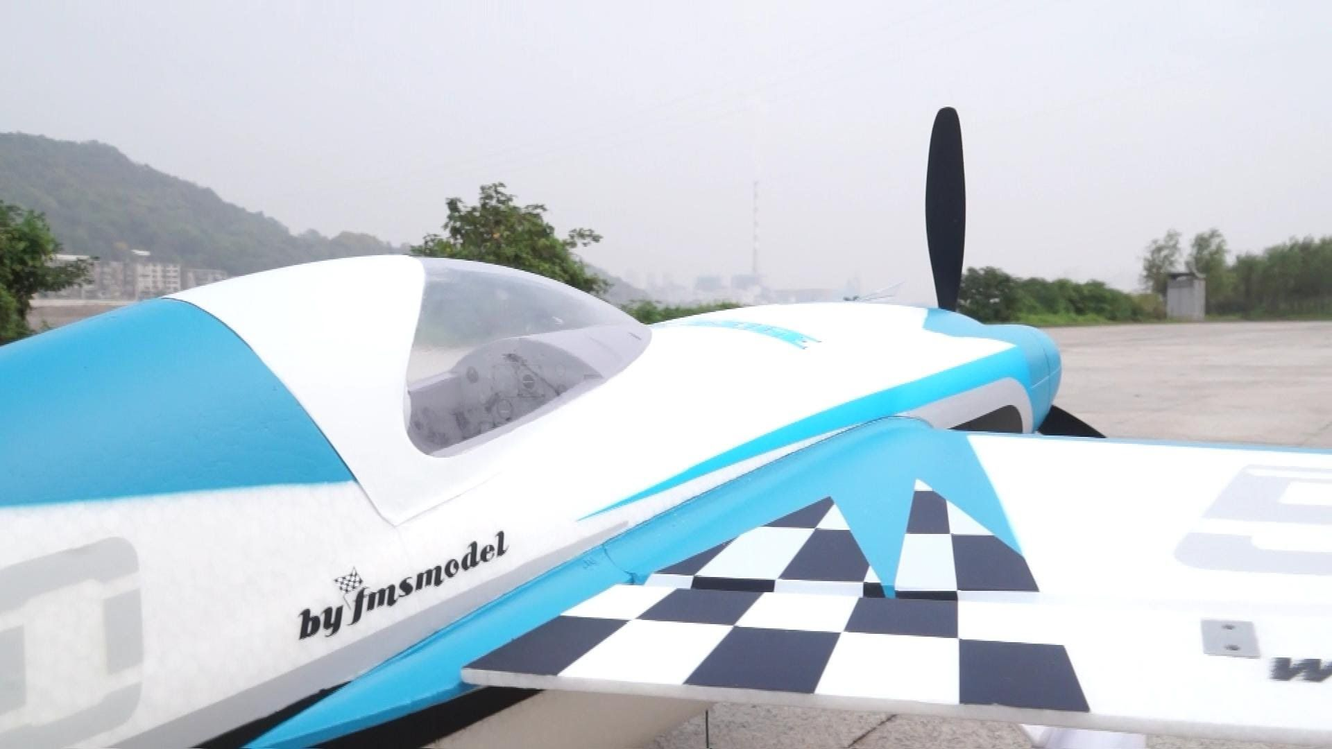 FMS Edge 540 RC Electric Aerobatics Plane | Radio Control