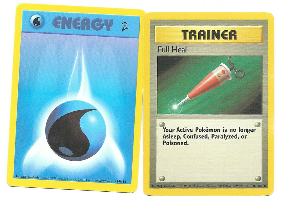 Details about mixed lot of 2 pokemon card trainer full