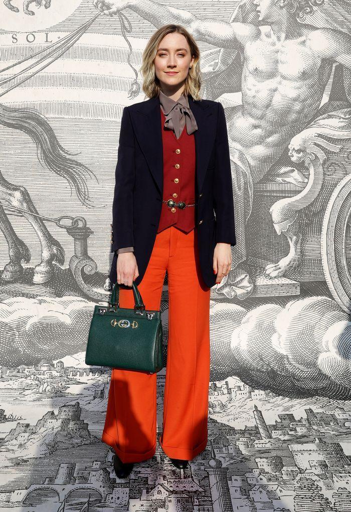 Photo of 8 celebrità hanno indossato questa tendenza hot-ticket nella prima fila di Gucci