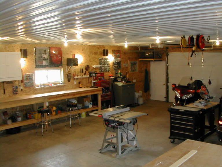 Garage Shop Walls Drywall or OSB? Dream Garage in 2019