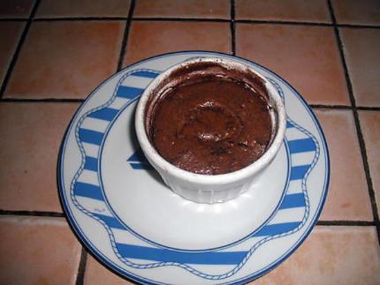 recette Moelleux au chocolat coeur nutella