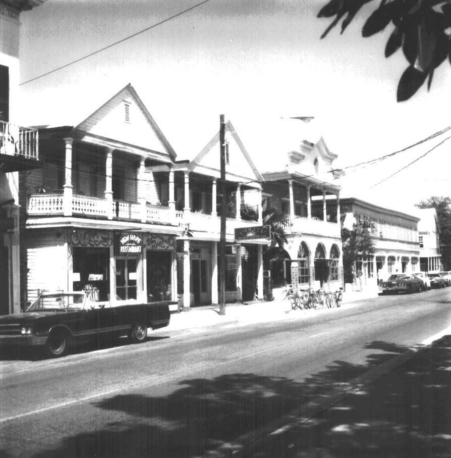 Then Now 200 Block Of Duval Street Key West History Historic Key West Key West Florida Old Florida
