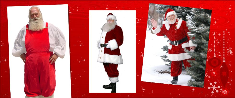 Custom Santa Claus Suits Santa Santa Suits Suits Custom Made