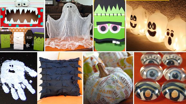 Lifestyle Fun halloween crafts, Craft and Holidays - halloween kids craft ideas