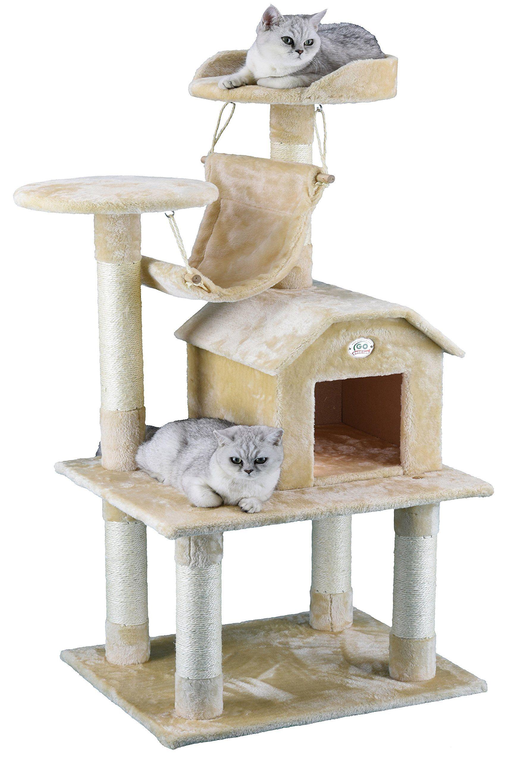 Go Pet Club Tall Furniture Cat Tree Cat Tree Condo Tree Furniture