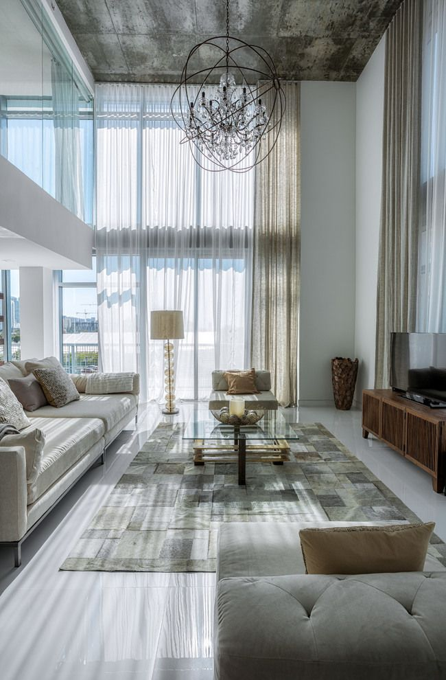 Apartment Interior With 4 Rooms: 4 MidTown Residence By Mila Design