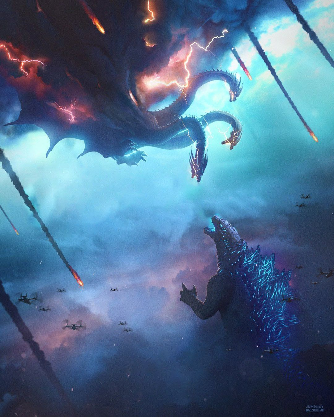 Ghidorah Vs Godzilla Godzilla Godzilla Wallpaper All Godzilla