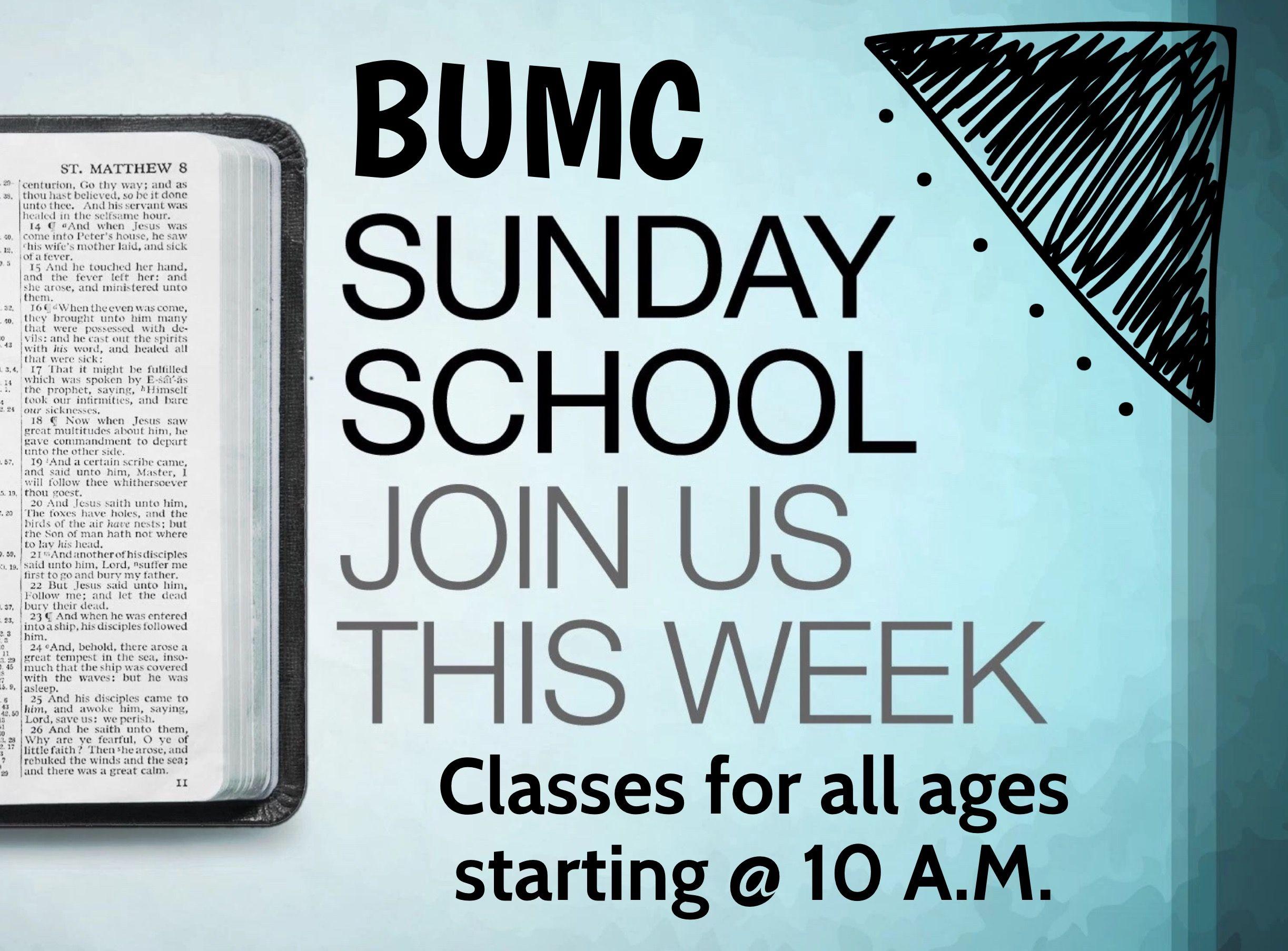 Join us weekly for sunday school sunday school saint