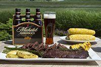 Michelob Amberbock Flat Iron Steak Flat Iron Steak Steak Beer