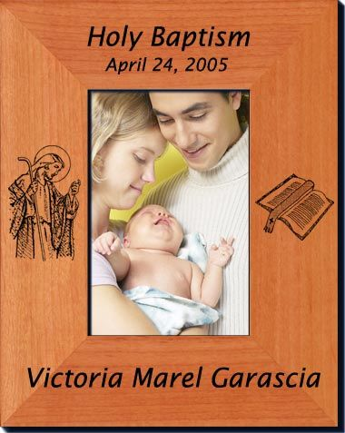 Personalized Religious Picture Frames - Always FREE laser engraving ...