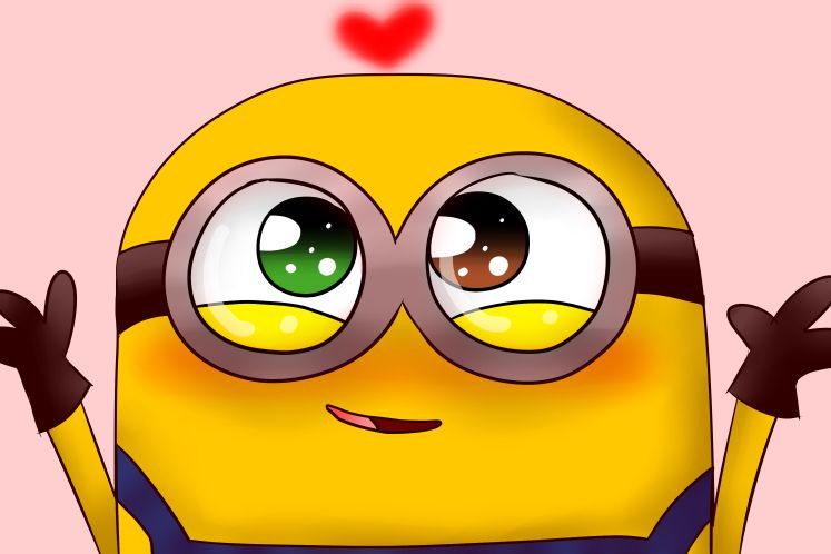 The Cutest Thing Ever Watch Bob In The Minion Movie With Images
