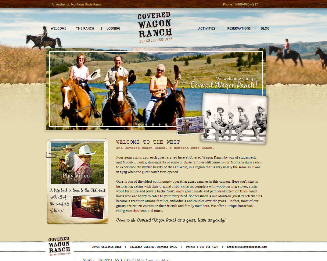 An Old West Dude Ranch Experience at Covered Wagon Ranch