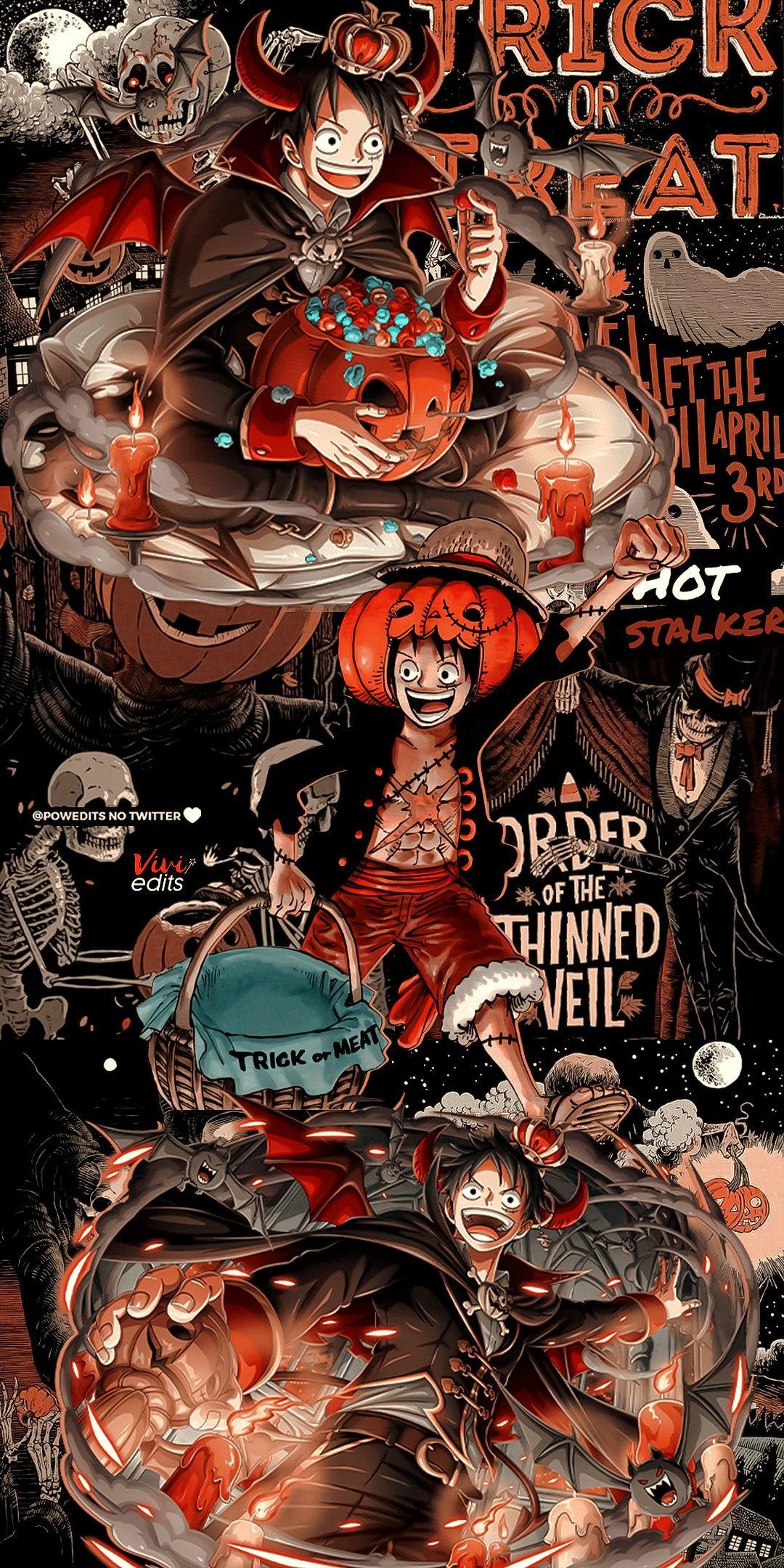 Lockscreen - Luffy (One Piece)