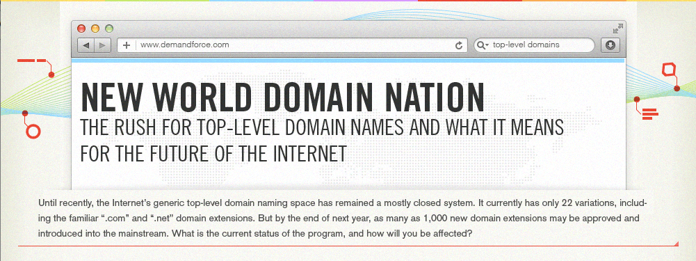 The Gold Rush for Top Level Domains #NewWorldDomains