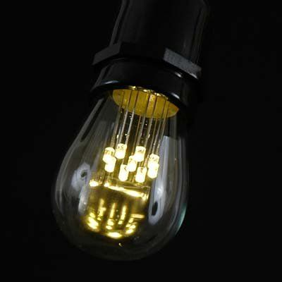 Replacement Bulbs For String Lights Best Novelty Lights 60 Pack LED S60 Outdoor Patio Edison Replacement