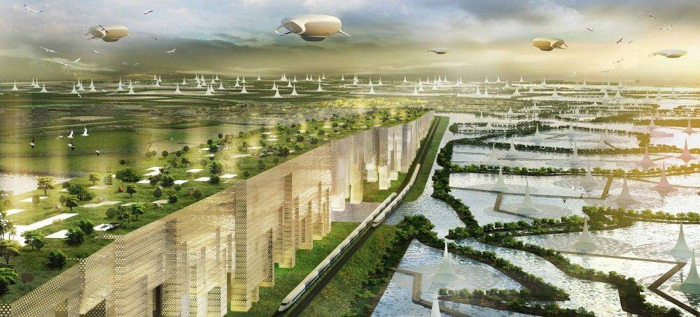 'Water City' Proposal / Shma