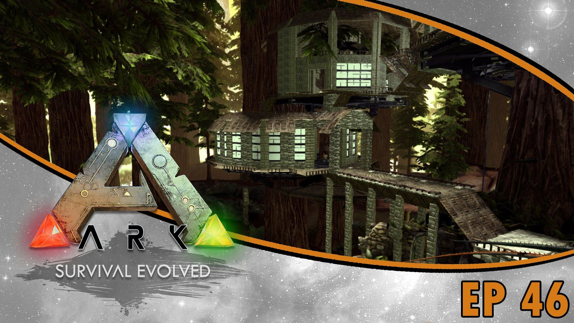 Ark Survival Evolved S2 Ep46 Treehouse Dino Storage Build