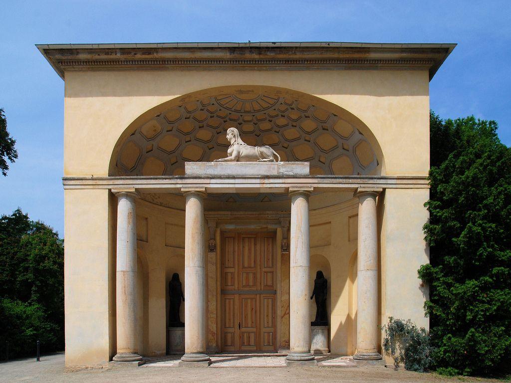 Neuer Garten Organgerie Von Langhans 1791 Vorlage Von Ledoux Renaissance Architecture Neoclassical Architecture Different Architectural Styles