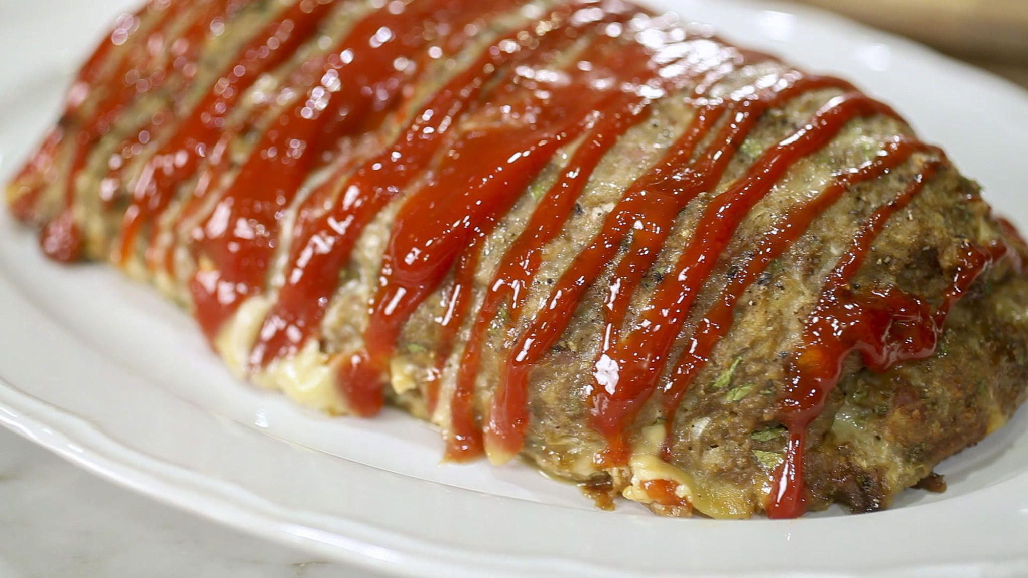 Wolfie's Thursday night turkey meatloaf #valeriebertinellirecipes Wolfie's Thursday night turkey meatloaf. Pancetta adds a sublime layer of flavor and makes this meatloaf stand out from a sea of too-similar recipes. Makes excellent sandwiches the day after. Recipe by Valerie Bertinelli. #valeriebertinellirecipes