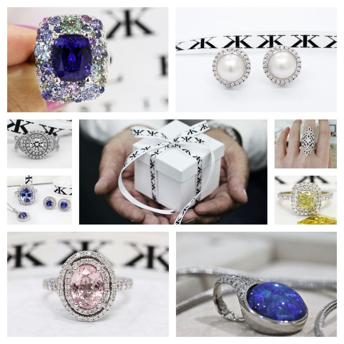 Custom made jewellery #kalfinjewellery #jewellersmelbourne #custommaderings #diamondringsmelbourne #engagementringsmelbourne #cbdjewellers #melbourne #weddingrings #diamondhalorings #artdeco #bluesapphire #yellowdiamonds #melbourne www.kalfin.com.au
