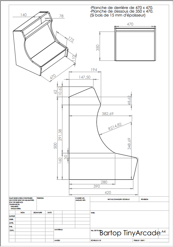 Bartop Arcade Cabinet Plans Diy Woodworking Plans And
