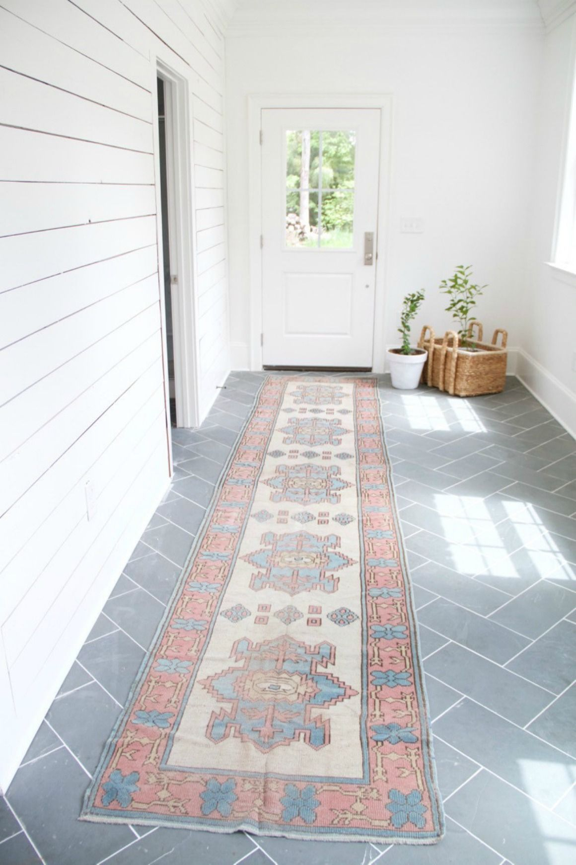 Top Mudroom Inspiration Ideas And Lowes Nesting With Grace Affordable Tile Mudroom Flooring Home Decor Furniture