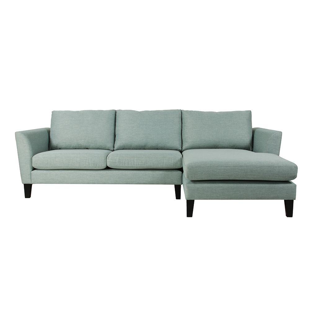 Erland 2.5 Seater Sofa with Chaise - Made in Australia - Matt Blatt