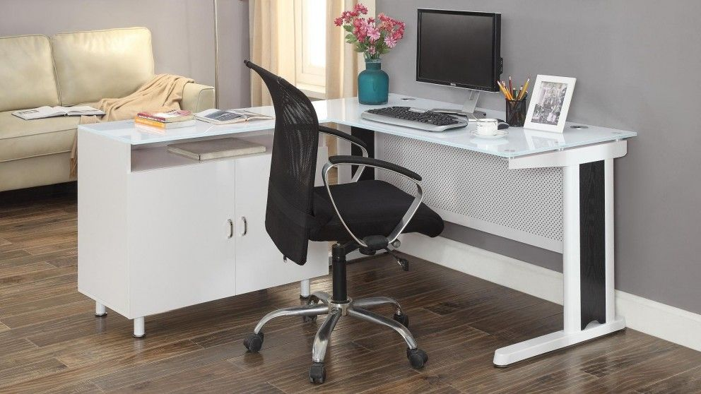 Apex 1600mm Office Desk - White - Desks & Suites | Harvey Norman Australia - Apex 1600mm Office Desk - White - Desks & Suites Harvey Norman