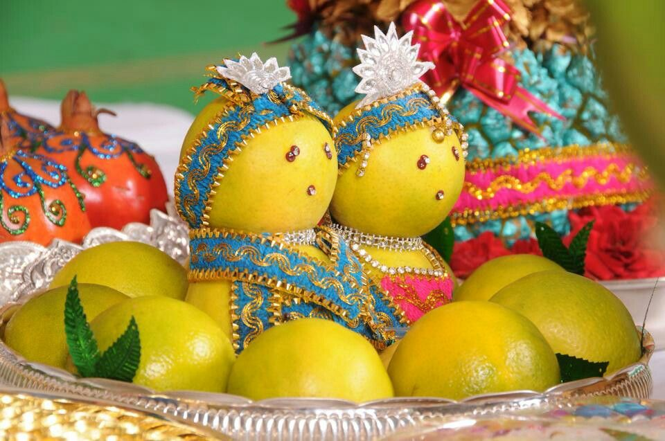 Fruit Tray Trousseau Packing Weddi