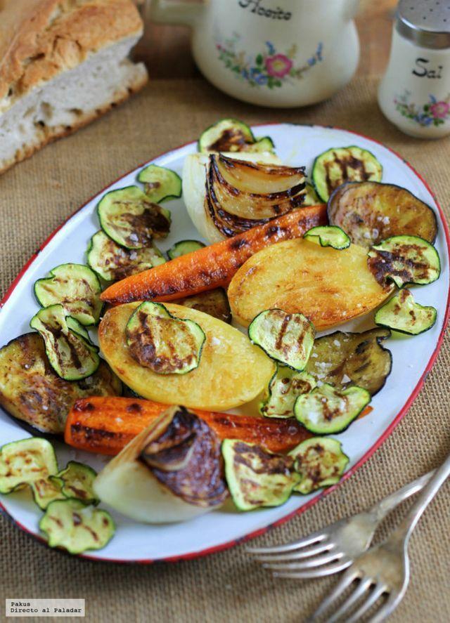 Cmo hacer una parrillada de verduras perfecta directo al paladar food forumfinder Image collections