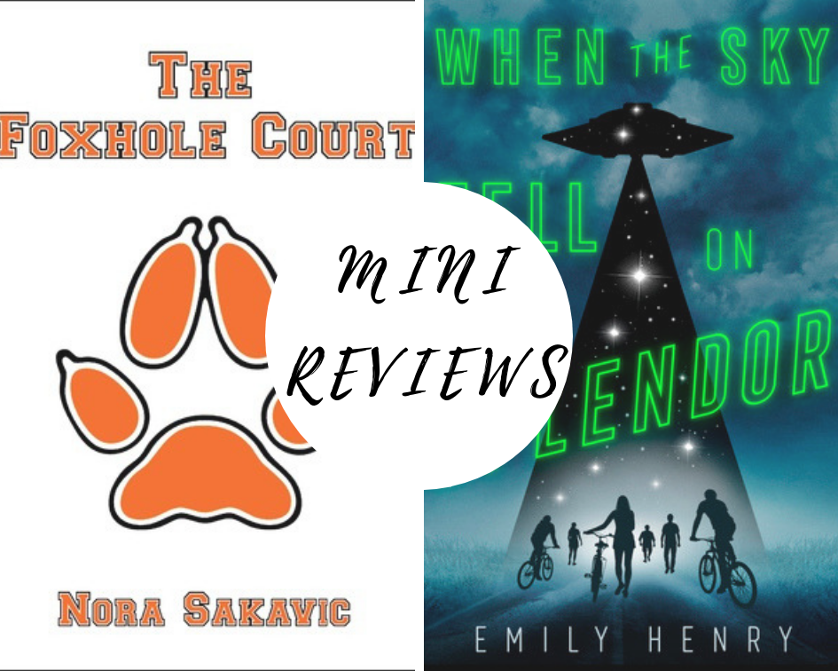 Mini Reviews The Foxhole Court Books young adult, Books